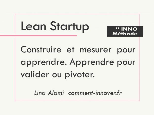 Lean startup - qu'est ce que l'innovation