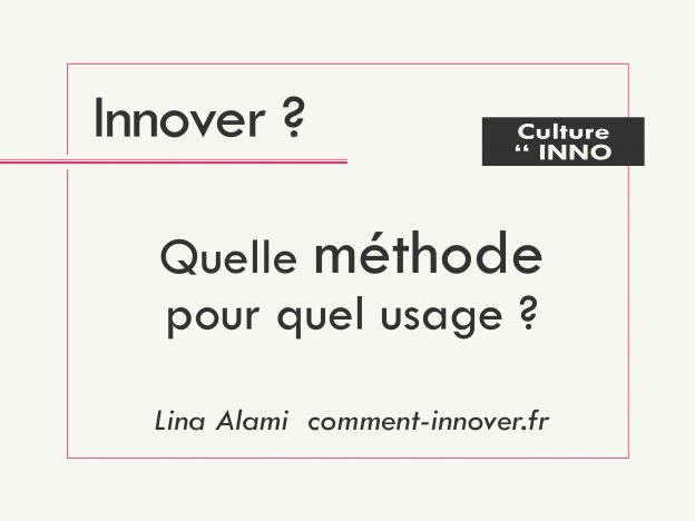 Méthodes de conception innovante - comment innover
