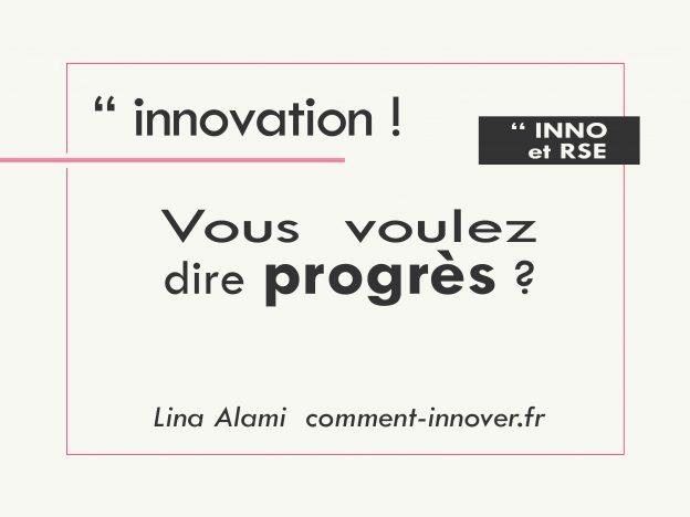 Innovation et responsabilité societale