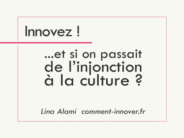 comment innover - Lina alami - articles innovation