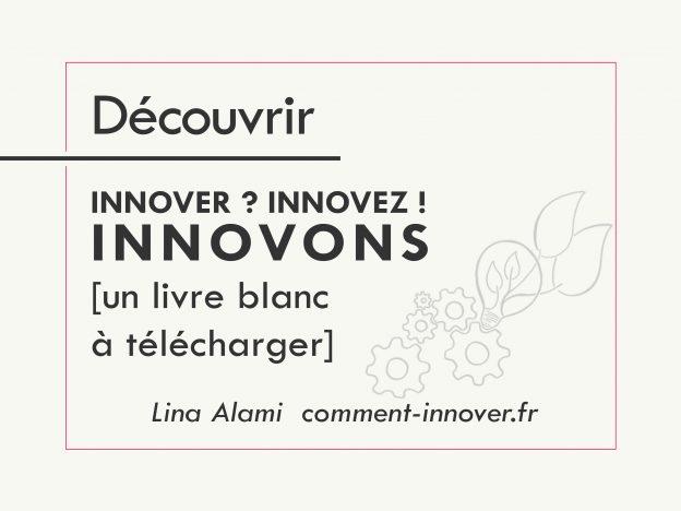 livre blanc : comment innover, qu'est ce que l'innovation - Lina Alami