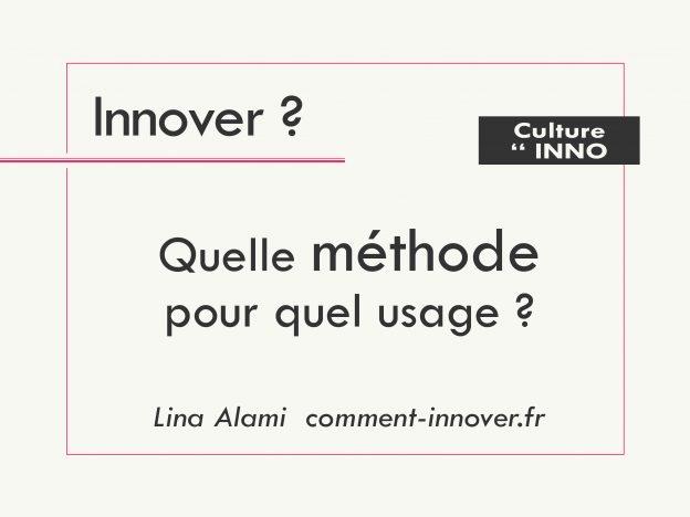 Méthodes de conception innovante - comment innover