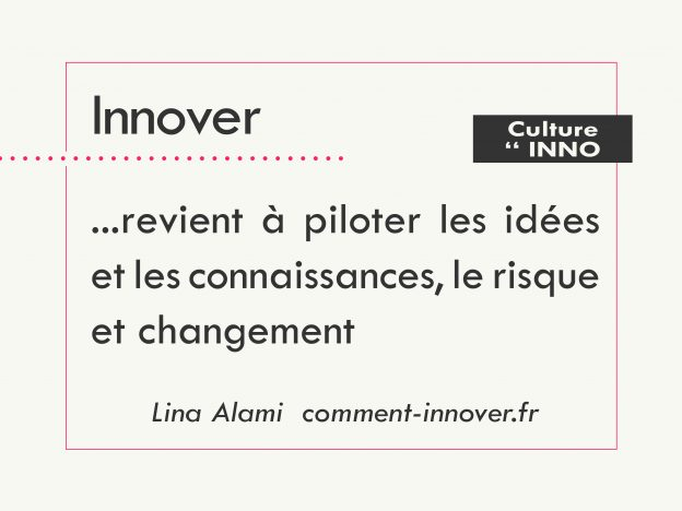 comment innover - Lina Alami